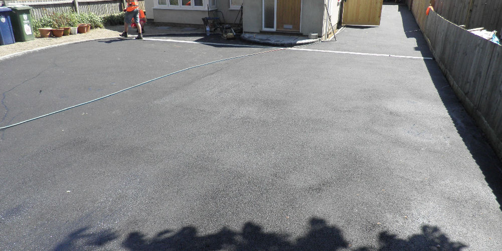 tarmac installed at a property