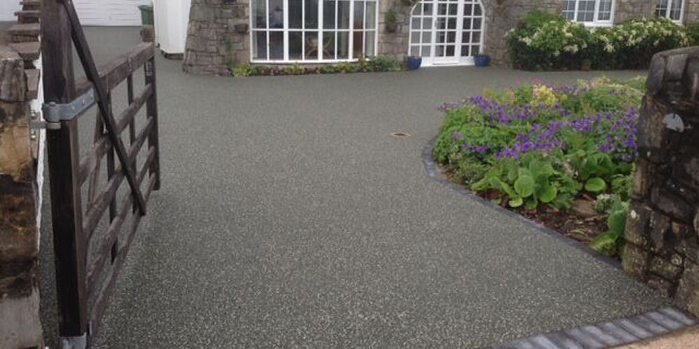 Resin surface in slate, Colchester, Essex