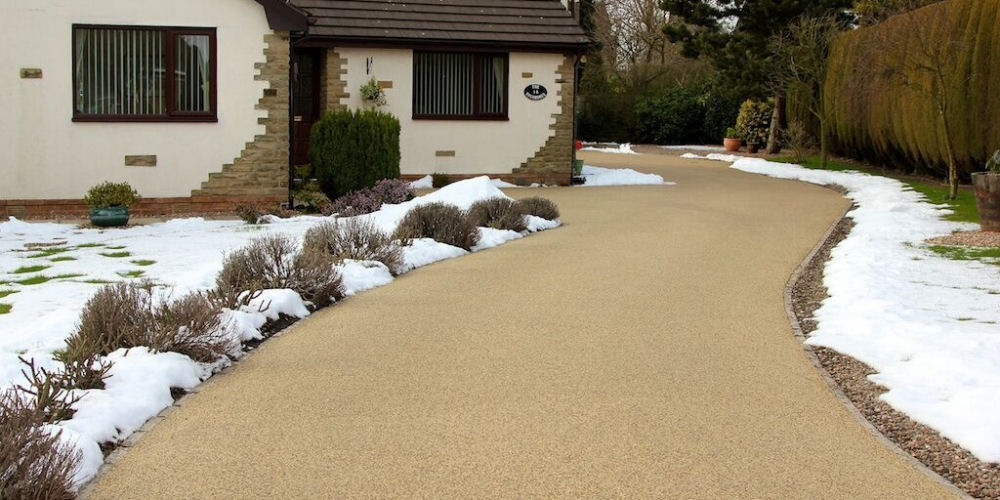 Resin driveway in Great Yarmouth, Norfolk
