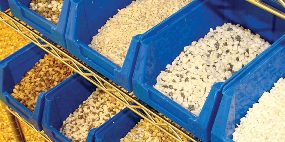 the resin Bonded Aggregate Range