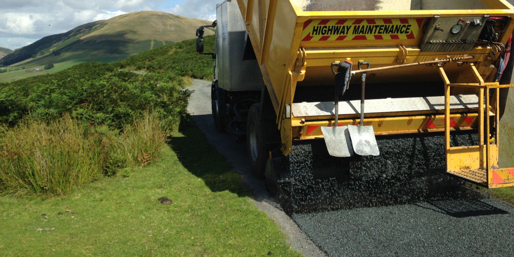 Road Surface Dressing installation